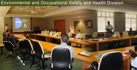 environmental and occupational safety and health division